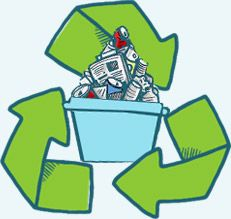 We will remove and recycle your rubbish