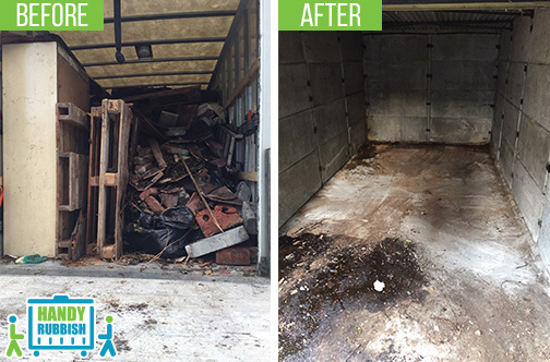 Rubbish Clearance in Browns Green