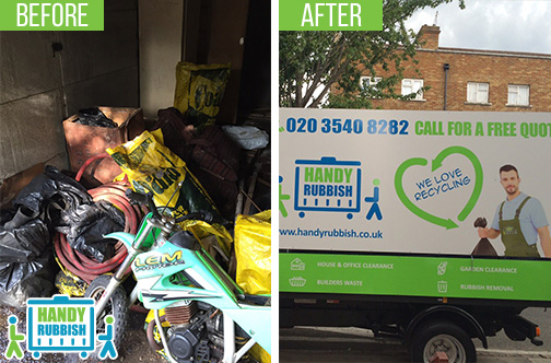 Rubbish Removal Company in Shacklewell