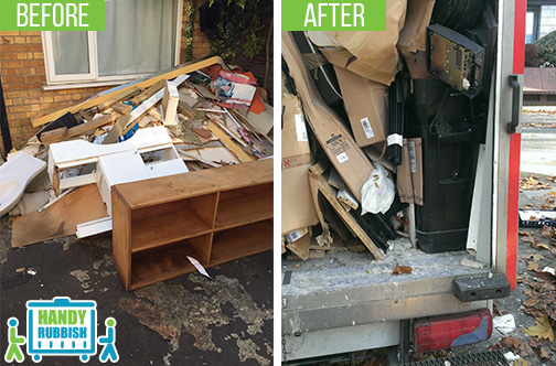 Rubbish Removal Services in Hanwell