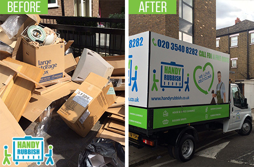 Rubbish Clearance Professionals in Tottenham Hale N15